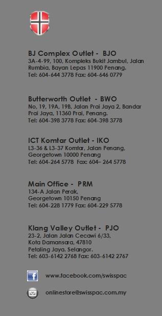 Swisspac Full address