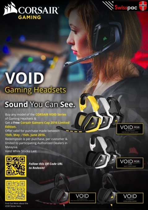 Corsair Gaming headset