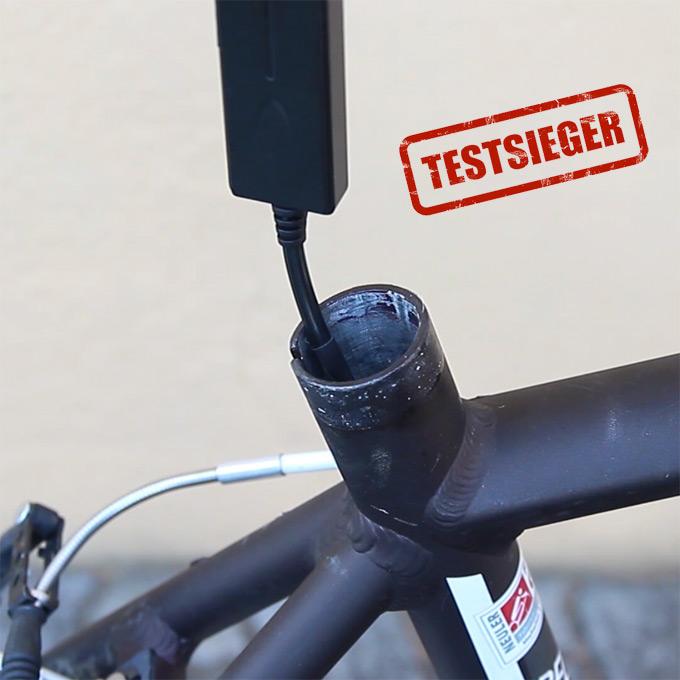 Swisstrack© GPS Fahrrad Tracker – GPS Sender Mini