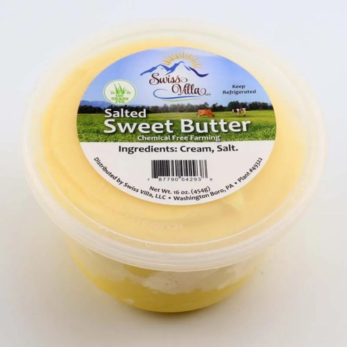 1 lb. Sweet Salted Butter