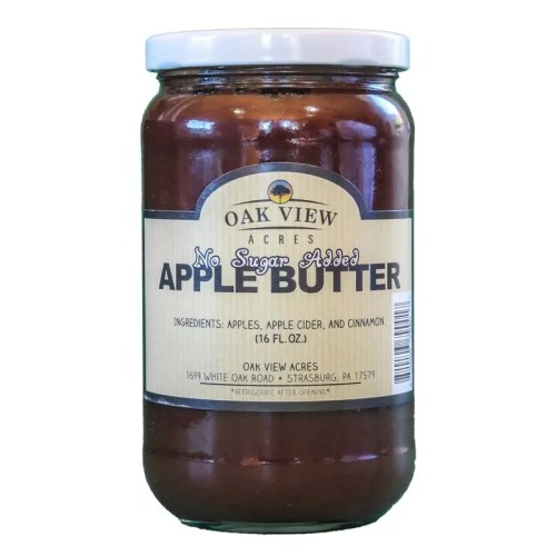 16 oz No Sugar Apple Butter from Oak View Acres