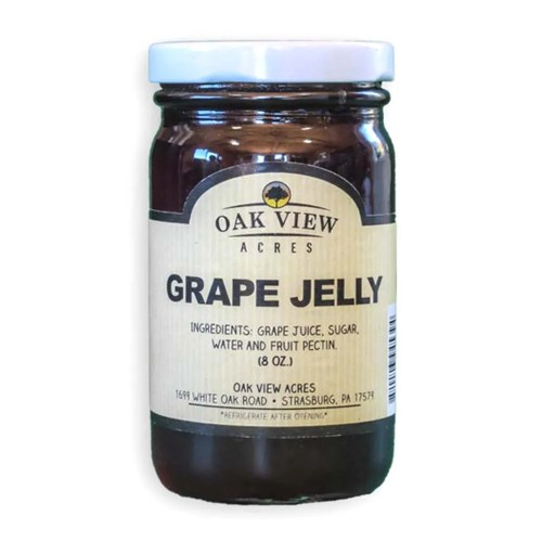 8 oz Grape Jelly from Oak View Acres