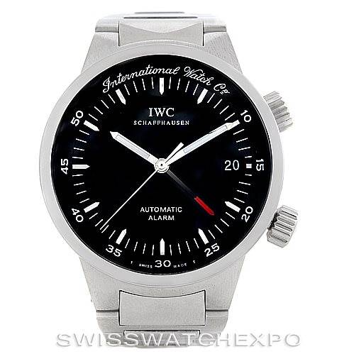 IWC Schaffhausen Automatic Alarm Mens Watch 3537