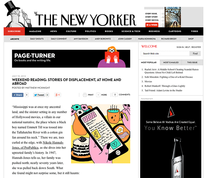 8 tips perfect blog post New Yorker