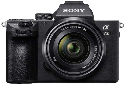 Sony Alpha a7 III mirrorless camera