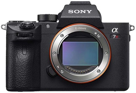 Sony a7R III mirrorless camera