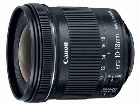 Canon 10-18mm STM lens