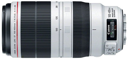 Canon 100-400mm EF lens
