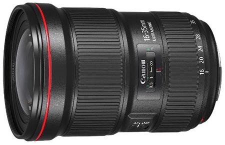Canon 16-35mm f2.8 III EF lens