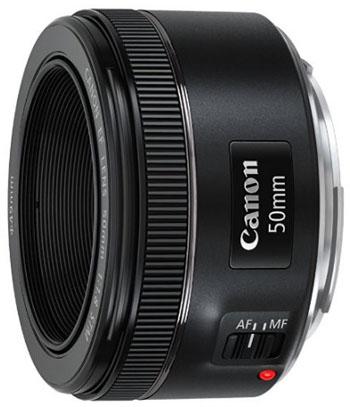 Canon 50mm f1.8 STM lens