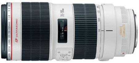 Canon 70-200mm f2.8 lens