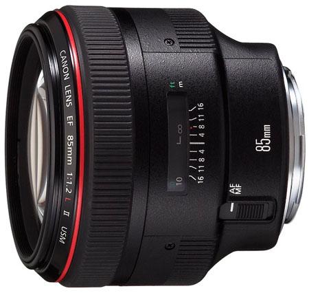 Canon 85mm f1.2 EF lens