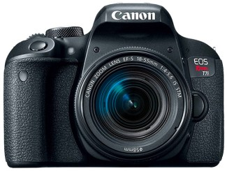 Canon Rebel T7i DSLR camera