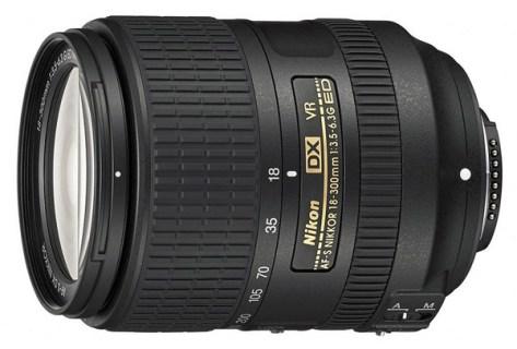 Nikon 18-300mm VR lens