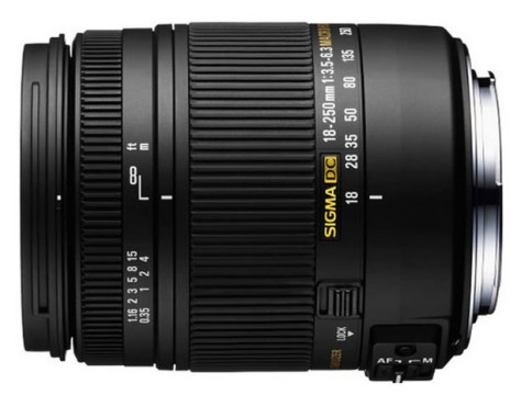 Sigma 18-250mm for Nikon lens