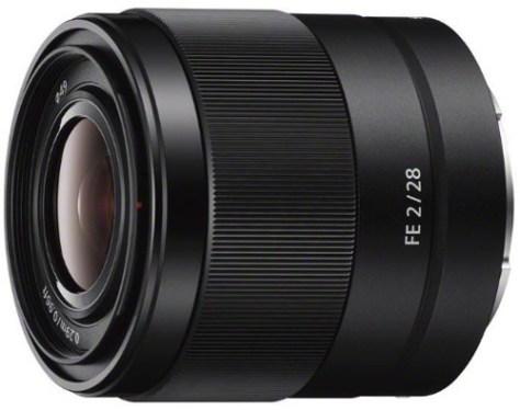 Sony 28mm f2 FE lens