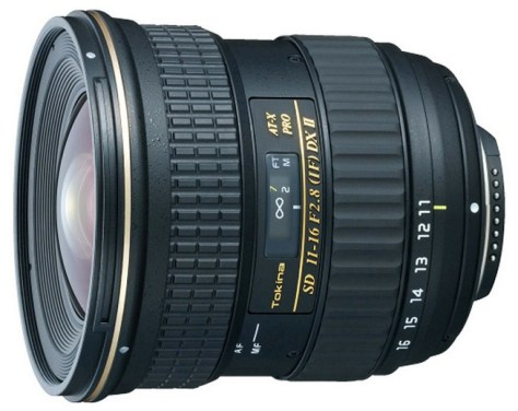 Tokina 11-16mm DX II lens