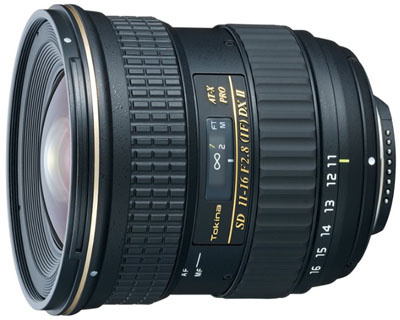 Tokina 11-16mm lens for Canon