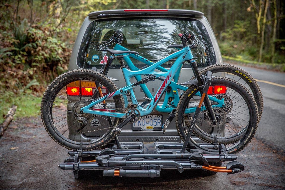 kuat nv 2 0 bike rack review
