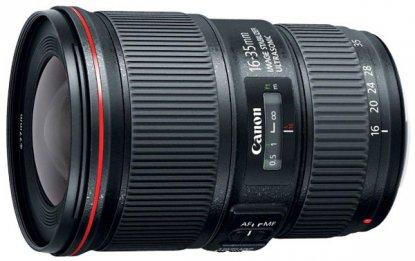 Canon 16-35mm f4 lens