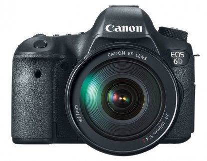 Canon EOS 6D camera