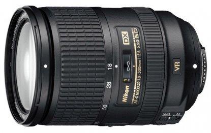 Nikon 18-300mm DX lens