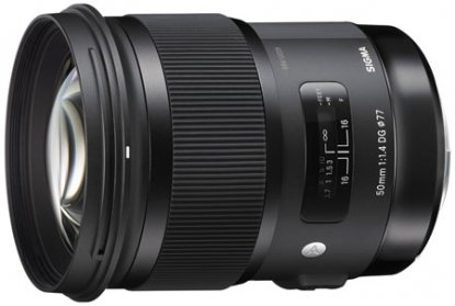 Sigma 50mm f1.4 for Canon
