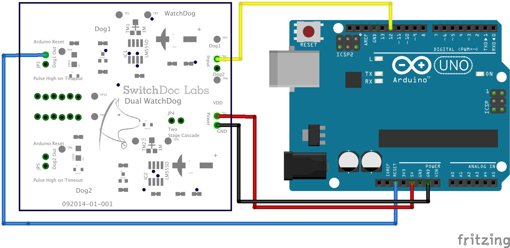 Dual WatchDog Timer - SwitchDoc Labs