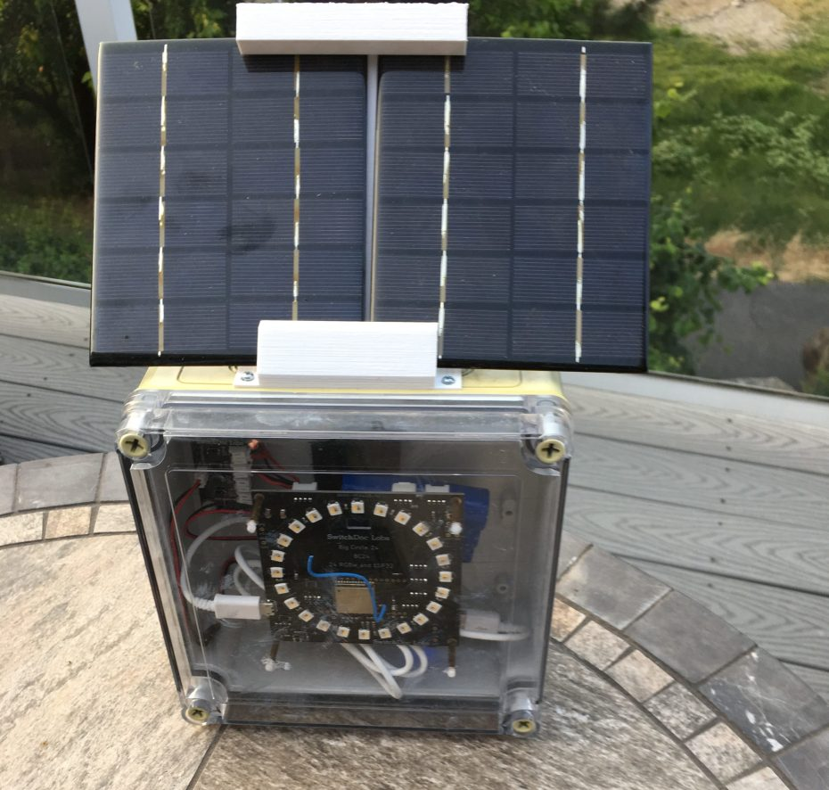 Tutorial: Part 4 – Boxing It Up –  IOT ESP32 Solar Powered WiFi Night Light