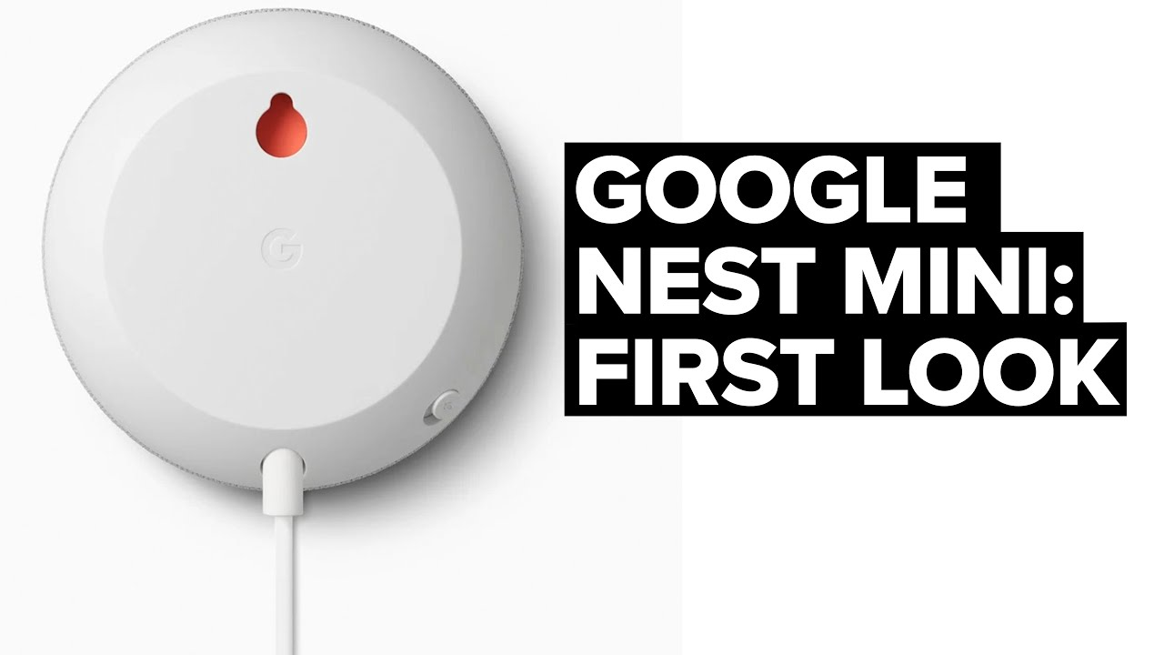First L K The New Google Nest Mini 2nd Gen Google Home Mini Switched On Network