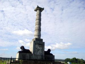 Monumentet i Kvidinge
