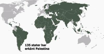 Erkännande av Palestina