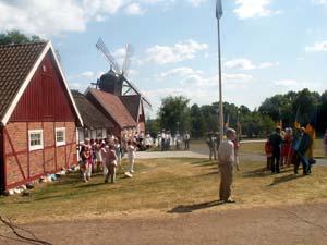Nationaldagsfirande i Perslundsparken