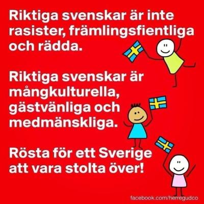 Om oss svenskar
