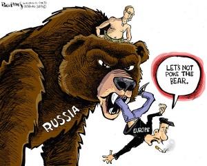 Den ryska Putin-björnen