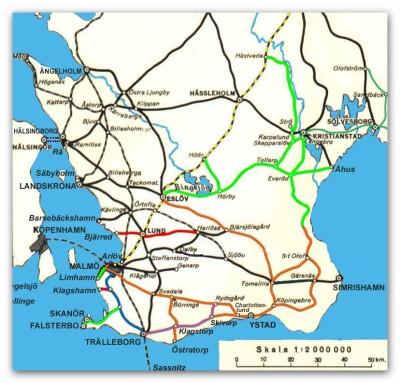 Skånska järnvägar