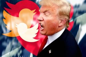 Donald Trump sänder ett fredsbudskap