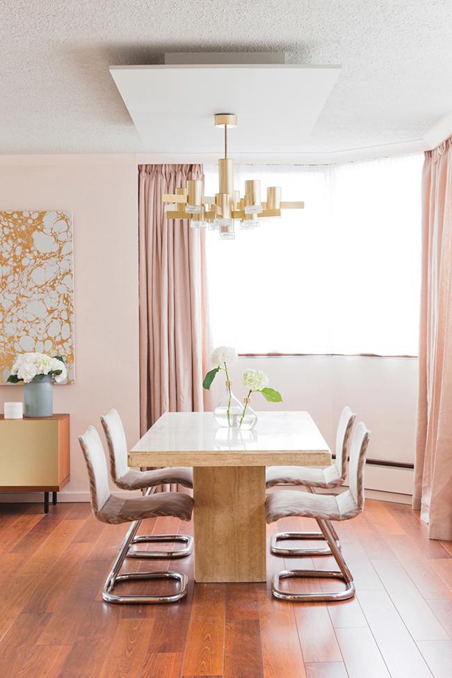 The Big Pink Blush Pink Interior Inspiration Swoon Worthy