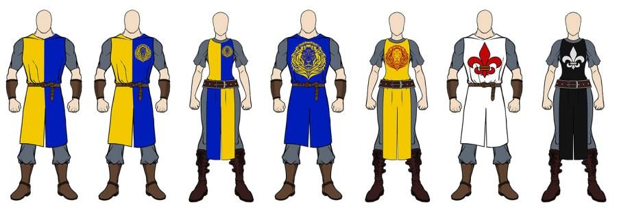 Clã Cavaleiros da Gladius Swordplay - Larp Boffering.