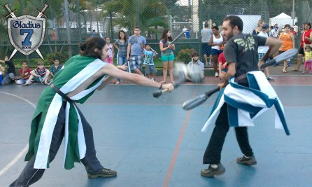 Gladius Swordplay Sesc Santos