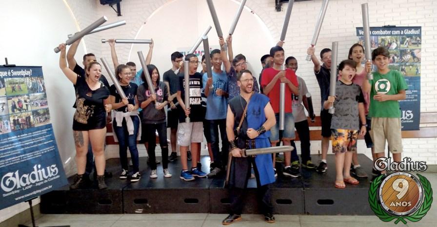 Gladius Swordplay - Sesc Taubate 2017 - 10