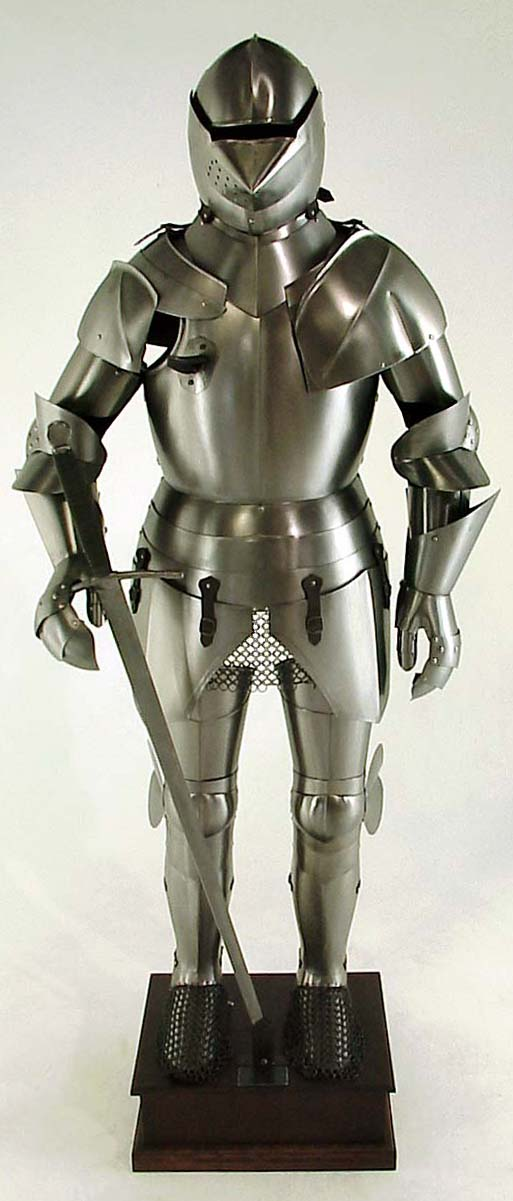 Jousting Suit of Armor, Wearable