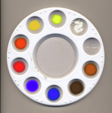 palette with 8 useful colors