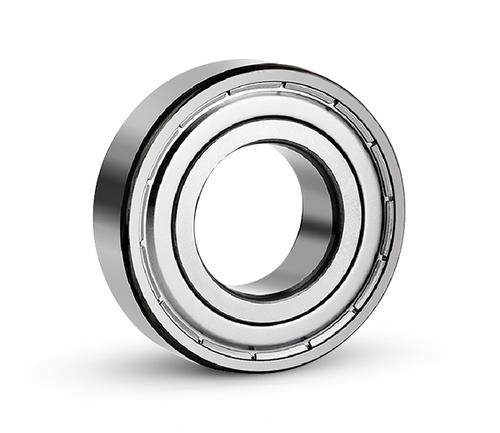 Deep groove ball bearing outer wall widened and thickened