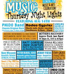 Flemington's Thursday Night Lights Poster