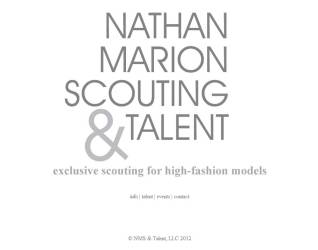 Nathan Marion Scouting and Talent Website Home Page