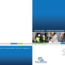 Telecom Integrity Group Brochure Front