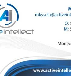 ActiveIntellect Business Card