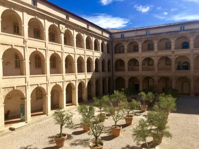 Celebrating Heritage Days in Marseille, France: La Vieille Charité courtyard