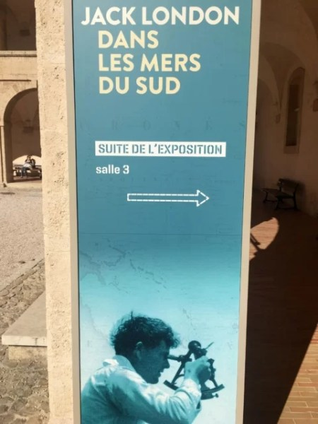 Celebrating Heritage Days in Marseille, France: Jack London exhibit